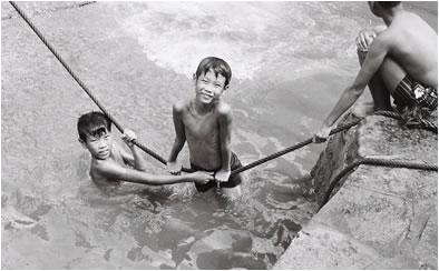 two boys SE ASIA 1970